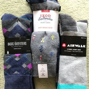 Men's Dress Socks ( 11 ) Pairs